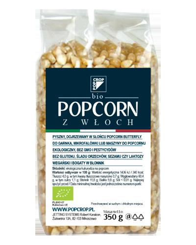 BIO Popcorn z Włoch – ziarno żółtej kukurydzy na popcorn