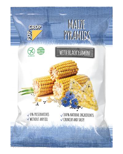 Pyramids Maize with Black Cumin