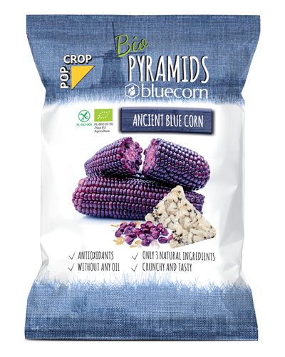 Organic Pyramids BLUECORN