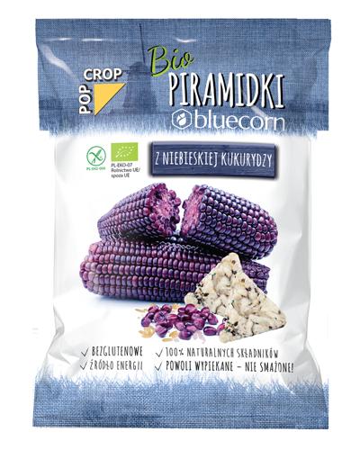 Bio Piramidki bluecorn z niebieskiej kukurydzy